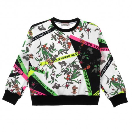 Kolorowa bluza dla dziecka Pinko Up - ekskluzywne ubrania dla dzieci - 003681 A