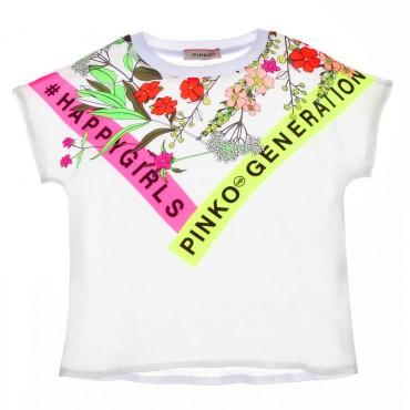 Drukowana bluzka dla dziecka Pinko Up 003683