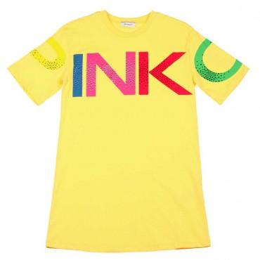 Letnia sukienka dla dziewczynki Pinko Up - modne ubrania dla dzieci - 003694 A