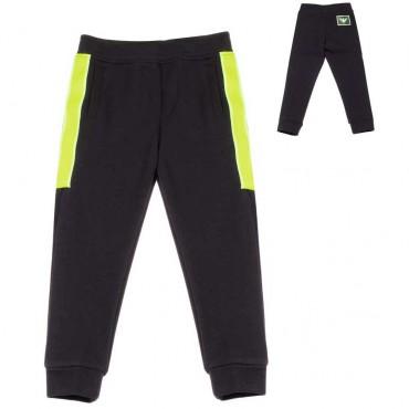 Granatowe spodnie dla chłopca Armani - sklep z ubraniami dla dzieci - 003708 A