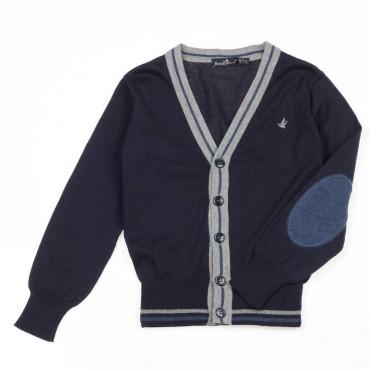 Granatowy kardigan dla chłopca Brooksfield - ekskluzywne ubrania dla dzieci - 003714 A