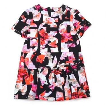 Sukienka dla dziewczynki Pinko Up - markowe ubrania dla dzieci - 003720 A