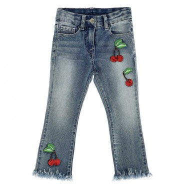 Jeansy dla dziewczynki Monnalisa 003722