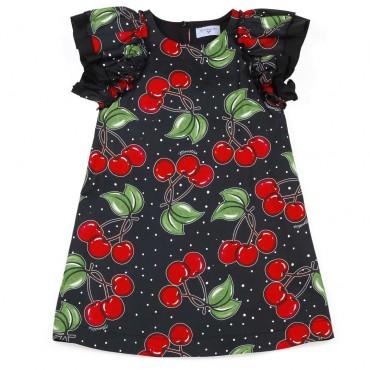 Letnia sukienka dla dziewczynki Monnalisa - ekskluzywne ubrania dla dzieci - 003723 A