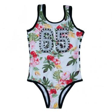 Dziewczęcy kostium kąpielowy Monnalisa - stroje kąpielowe dla dzieci - 665001S6