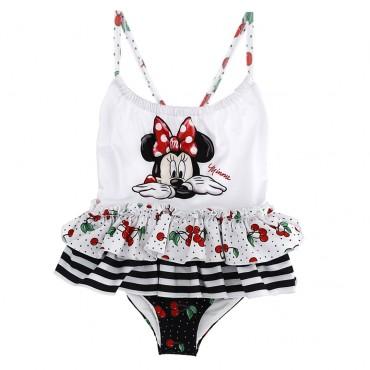 Dziewczęcy kostium kąpielowy Minnie - stroje kąpielowe dla dzieci -  003485*