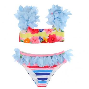 Stroje kąpielowe dla dzieci - bikini dla dziewczynki Monnalisa - 003648