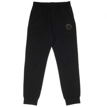 Czarne spodnie dla chłopca Emporio Armani - ekskluzywna odzież dla dzieci - 003750 A