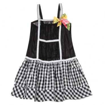 Letnia sukienka dla dziewczynki Monnalisa 003758 A