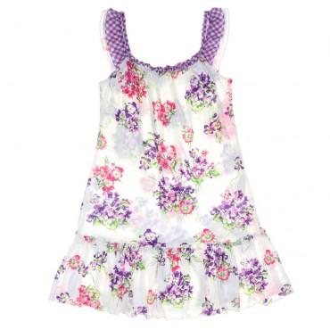 Letnia sukienka dla dziewczynki Monnalisa 003760