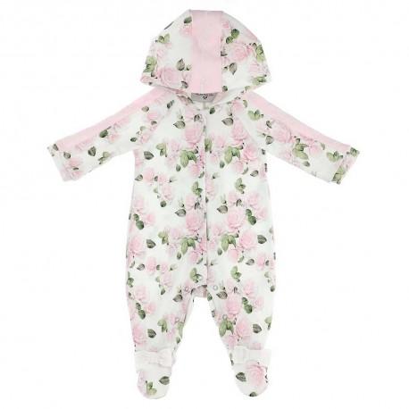 Pajacyk niemowlęcy z kapturem Monnalisa 003777 A