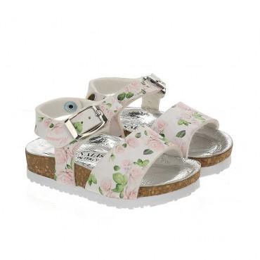 Sandałki dziewczęce Monnalisa 003783 A