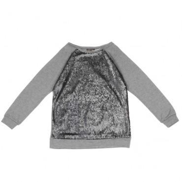 Sweter dziewczęcy z cekinami Miss Grant 003796 A