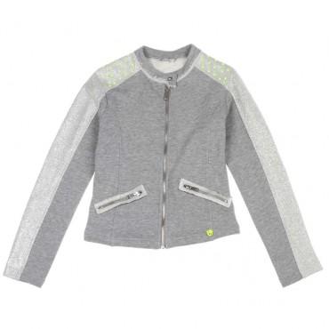 Bluza dla dziewczynki z dżetami Miss Grant 003797 A