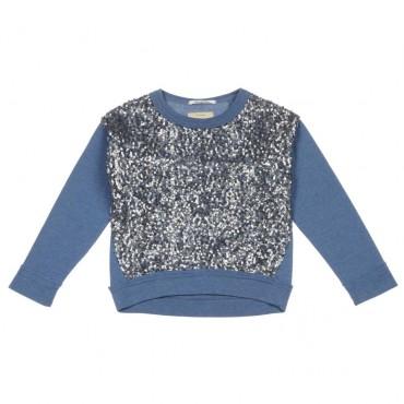 Dziewczęca bluza z cekinami Pepe Jeans 003798