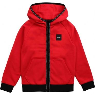 Bluza z kapturem dla chłopca DKNY 003815