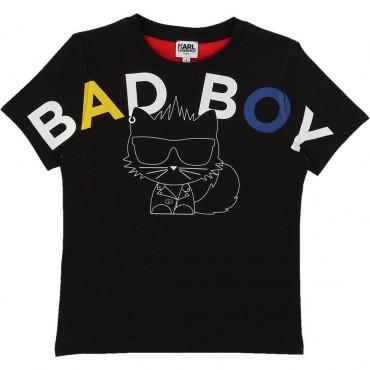 T-shirt dla chłopca Bad Boy Karl Lagerfeld 003824