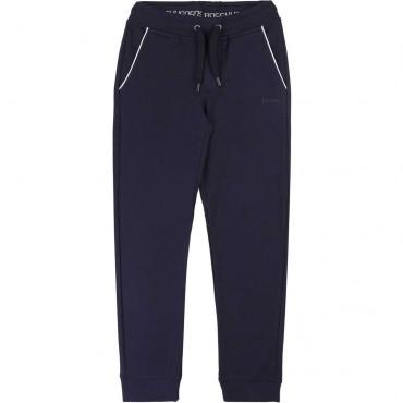 Spodnie dresowe dla chłopca Hugo Boss 003842 A