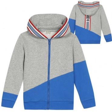 Zapinana na suwak bluza dla dziecka Kenzo 003858 A
