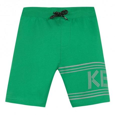 Zielone szorty dla chłopca Kenzo Kids 003859 A