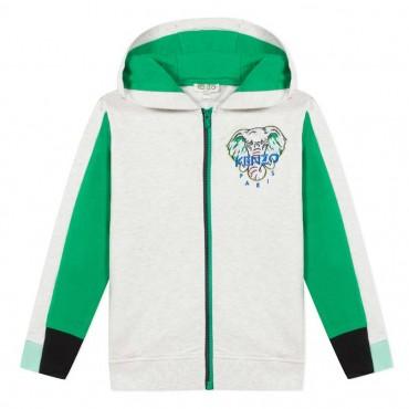 Chłopięca bluza z kapturem Kenzo Kids 003865