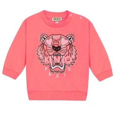 Bluza niemowlęca z tygrysem Kenzo Kids 003854 A