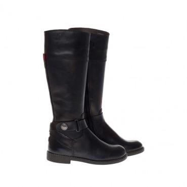 Oficerki dziewczęce z klamrą Tommy Hilfiger FG56814573 - oryginalne buty dla dziewczynki - sklep internetowy euroyoung.pl