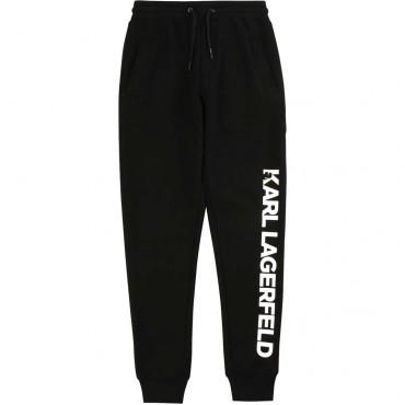 Spodnie dresowe dla chłopca Karl Lagerfeld 003869 A