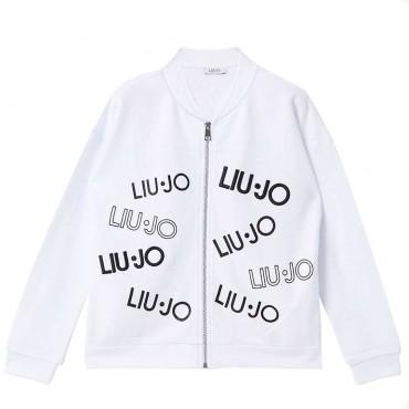 Zapinana bluza dziewczęca z logo Liu Jo 003879 A