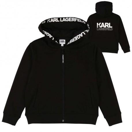 Chłopięca bluza z kapturem Karl Lagerfeld 003880 A