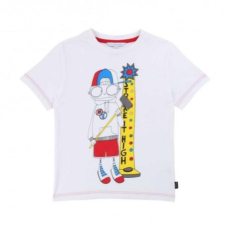 Chłopięcy t-shirt z nadrukiem Marc Jacobs 003884 A