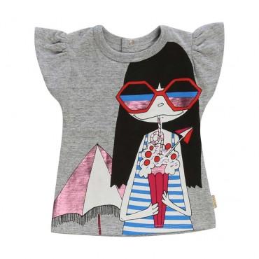 Koszulka niemowlęca Little Marc Jacobs 003887 A