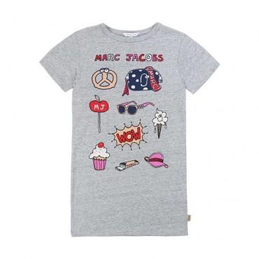 Sukienka dla dziewczynki Little Marc Jacobs 003888 A