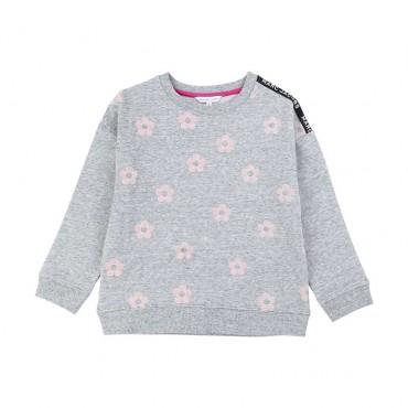 Szara bluza dla dziewczynki Marc Jacobs 003889