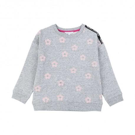Szara bluza dla dziewczynki Marc Jacobs 003889 A