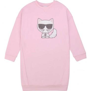 Sukienka dla dziewczynki Karl Lagerfeld 003893 A