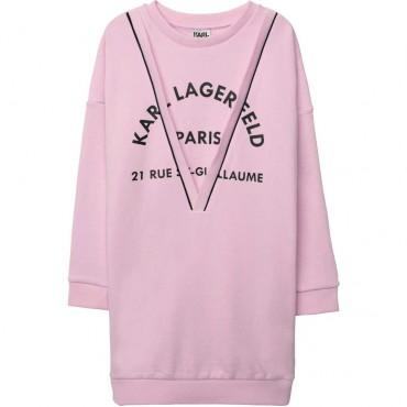 Sukienka dziewczęca Karl Lagerfeld 003894 A