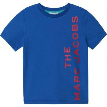 T-shirt dla chłopca Little Marc Jacobs 003900