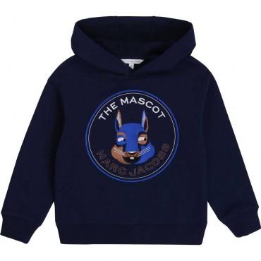 Granatowa bluza chłopięca Marc Jacobs 003901 A