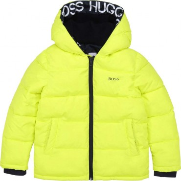 Zimowa kurtka dla chłopca Hugo Boss 003907 A