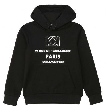 Bluza z kapturem dla chłopca Karl Lagerfeld 003914 A