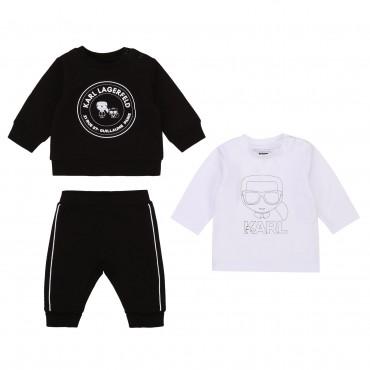Dres niemowlęcy + koszulka Karl Lagerfeld 003915 A