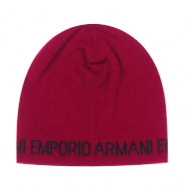 Czapka dziecięca z dzianiny Emporio Armani 003924 A