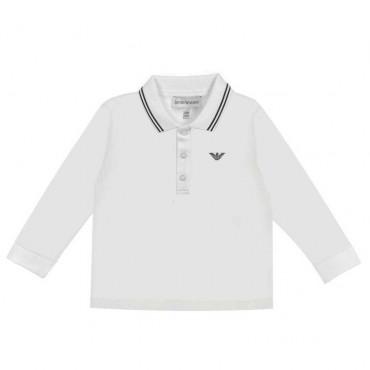 Koszulka polo dla małego chłopca Armani 003926