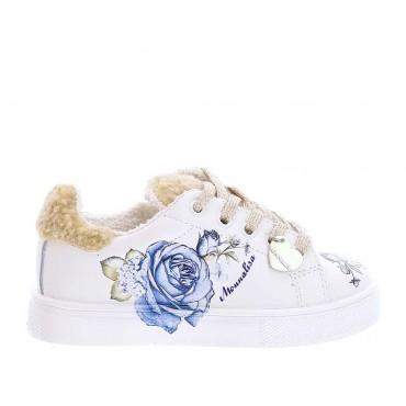 Ocieplone sneakersy dziewczęce Monnalisa 003935 a