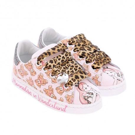 Buty dla dziewczynki Monnalisa Alicja 003936 - bajkowe obuwie dla dzieci - sklep internetowy euroyoung.pl