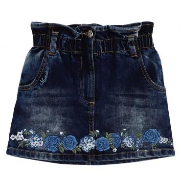 Spódnica jeansowa dla dziewczynki Monnalisa 003954 A