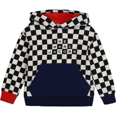 Chłopięca bluza z kapturem Marc Jacobs 003960