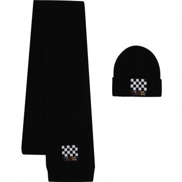 Czapka i szalik dla dziecka Marc Jacobs 003961 A