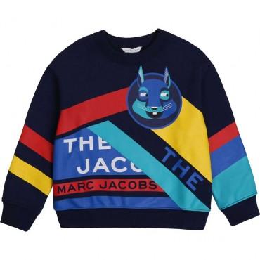 Chłopięca bluza z nadrukiem The Marc Jacobs 003963 A